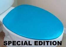 Shiny Lid Cover toilet SEAT Aqua Bright for Standard & Elongated  HandMade USA