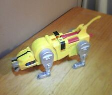 "12"" Voltron Lion Force YELLOW LION Third 3rd Dimension   1998 Trendmasters"