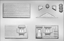 3D House Double Wide Chocolate Candy Mold from CK #13641