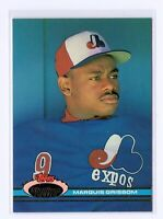 1991 Topps Stadium Club #8 Marquis Grissom Montreal Expos Baseball Card