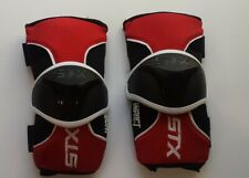 Stx Lacrosse Impact Arm Guard, Red, Small