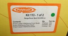 ORIGINAL POLYBUSH KIT113 RANGE ROVER SPORT 2005 ON UPGRADE SUSPENSION BUSH SET