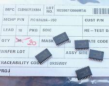 Microchip PIC16F628A-I/SO PIC 8 bit 224 B RAM, 128 B lot of 5 parts