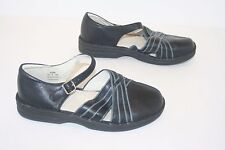 Propet Black Leather Mary Janes. Women's 8 D
