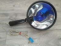 Vintage Soviet Medical Infrared Reflector Lamp Blue Light Therapy USSR Working