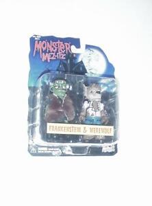 Mezco Monster Mez-Itz: Frankenstein & Werewolf 2-Pack NEW IN PACKAGE