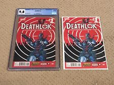 Deathlok 1 CGC 9.8 White Pages (Classic Cover!!) + extras