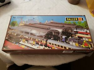 A Model Railway Plastic kit In Ho Gauge By Faller Of A Covered Station Mo 120180