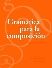Gramatica para la composicion (Spanish Edition)