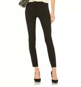 Vince 5 Pocket Skinny Ankle Black Stretch Legging Zip Up Pant Size 0 NWT