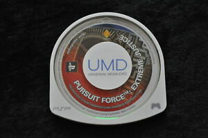 Pursuit Force Extreme Justice Sony PSP Disc Only