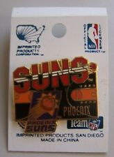 NBA Phoenix Suns Pin 1995 Imprinted Products Basketball Court OOP