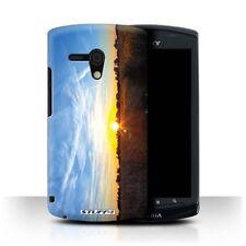 Housses et coques anti-chocs bleus Sony Xperia L pour téléphone mobile et assistant personnel (PDA)