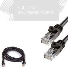 50ft Cat6 Patch Cord Cable Ethernet Internet Network LAN RJ45 UTP Black