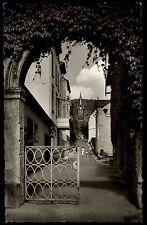 Bad Bertrich Üßbachtal Eifel ~1950/60 Gebrüder Metz Kurverwaltung Kirche Gasse