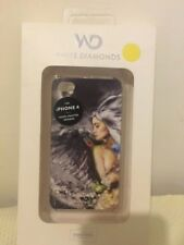 White Diamonds Swarovski Crystal Liquid Case iPhone 4/4S NEW