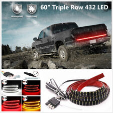 60 inch 432 LED 3 Colors Reverse Brake Flowing Turn Signal Pickup Tailgate Light