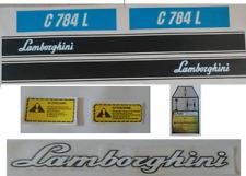 KIT ADESIVI DECALCOMANIE LAMBORGHINI C603L PER TRATTORI AGRICOLI
