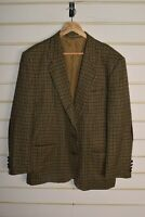 Ing Loro Piana Wool Suit Jacket Blazer By Jacques Fath - Size 44 R (RefC3)