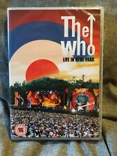 THE WHO: LIVE IN HYDE PARK - DVD - NEW + SEALED