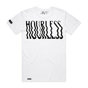Hourless Tee (T-Shirt) Mens S M L XL XXL WHITE Afends Vans RVCA Tattoo