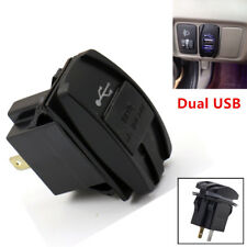 1PC Black 3.1A Dual LED USB Universal Car Auto Power Supply Charger Port Socket