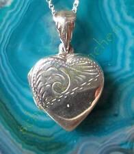 Anhänger Herz zum Öffnen Sterling Silber 925 Herz Symbol der Liebe