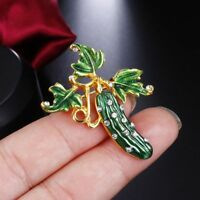 Elegant Enamel Brooch Fashion Jewelry Rhinestone Lapel Pin Brooch Collar Pin