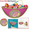 Kids Baby Bath Toy Tidy Organiser Mesh Net Storage Bag Peli Play Pouch Holder