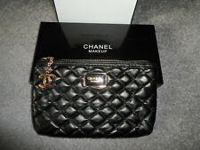 Original Chanel Kosmetiktasche/ Makeup schwarz