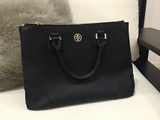 Pre Loved Auth LARGE TORY BURCH ROBINSON DOUBLE ZIP TOTE
