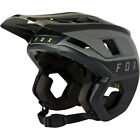 Fox Racing Dropframe Pro Downhill MTB Bicycle Helmet Two Tone Black/Grey Large L
