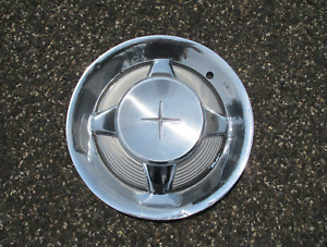 One factory 1960 1961 Desoto Fireflite wheel cover hubcap