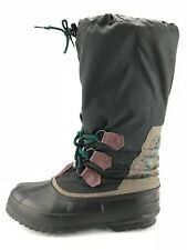 Sorel Boots - Glacier Ice Snow Pac Fishing Winter Shoes Canada Women's 9 Black