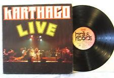 Karthago – Live  - - LP