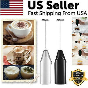 Frother Electric Milk Mixer Drink Foamer Coffee Egg Beater Whisk Latte Stirrer