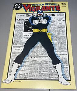 Vigilante #1 DC Appearing in Peacemaker 1983