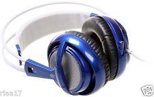 Brand NEW SteelSeries Siberia V2 Full Size MULTIUSO Cuffie Gaming blu.