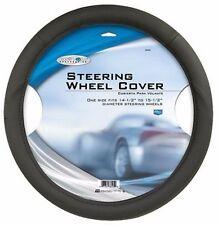 Custom Accessories 38405 Steering Wheel Cover, Black Foam,One Size (RW31C-38405)