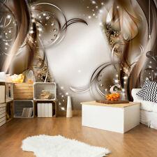 VLIES FOTOTAPETE Abstrakt 3D effekt TAPETE WANDBILDER XXL Wohnzimmer 3 Farbe