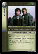 LOTR: A Promise [Moderately Played] Black Rider Lord of the Rings TCG Decipher