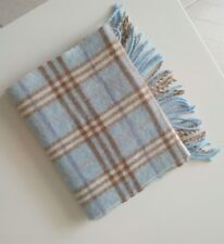 Authentic Burberry blue scarf