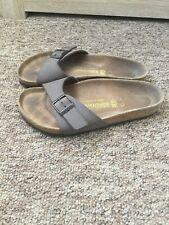 Birkenstock Brown Leather Sandal Shoes Size:3 Euro:36