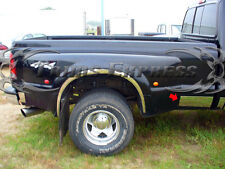 """1999-2010 Ford F-250 Super Duty Extended Cab Dually Chrome Rocker Panel Trim 6"""""""