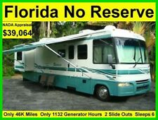 NO RESERVE 2003 ITASCA SUNRISE 32FT 2 SLIDE OUTS CLASS A RV MOTORHOME CAMPER