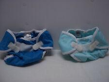 Lot of 2 Thirsties Diaper Covers Blue Medium