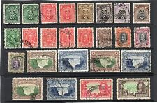 Multiple George V (1910-1936) Rhodesian Stamps