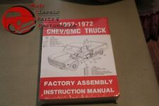 Chevy Pickup 1967-72 Truck Factory Assembly Manual