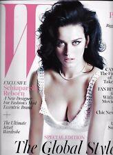 W magazine Katy Perry Naomi Campbell Fan Bingbing Marco Zanini Schiaparelli