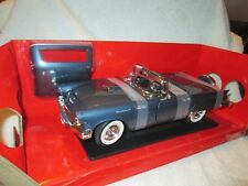 1957 FORD THUNDERBIRD BLUE Road Signature MPH Collection Yat Ming  1:18 T-BIRD
